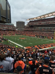 Bengals/Browns at Paul Brown Stadium