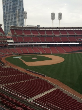Club seats for Reds