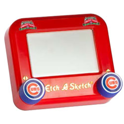 cubs etch a sketch