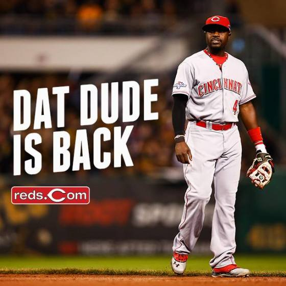 Photo Credit: Cincinnati Reds Official Facebook page