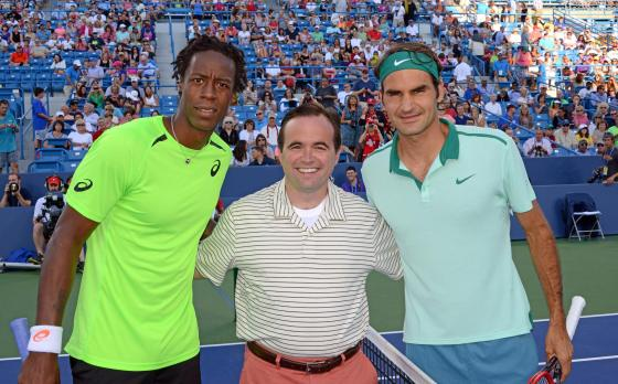 Photo via Western & Southern Open Facebook page
