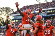 #2) Georgia Bulldogs | Avg. Price: $236.72 | 2013 Record: 8-5 | Most expensive ticket next season: $357.85 vs. Auburn