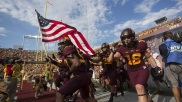 #19) Minnesota Golden Gophers | Avg. Price: $129.34 | 2013 Record: 8-5 | Most expensive ticket next season: $172.67 vs. Ohio State