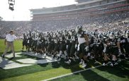 #23) Michigan State Spartans | Avg. Price: $121.03 | 2013 Record: 13-1 | Most expensive ticket next season $200+ vs. Michigan