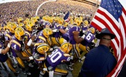 #6) LSU Tigers | Avg. Price: $174.45 | 2013 Record: 10-3 | Most expensive ticket next season: $606.81 vs. Alabama