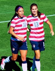 Alex Morgan & Sydney Leroux