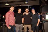 Dallas Stars Brenden Dillon, Jamie Benn, Tyler Seguin, and Cody Eakin