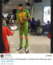 Otto Porter as Michelangelo