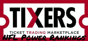NEW tixers NFL Power Rankings Logo